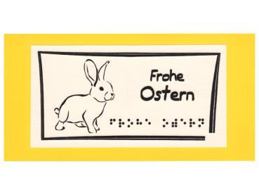 Osterkarte Hase