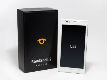 BlindShell 2 mit Verpackung