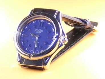 """Taktile Herren-Uhr """"Arsa"""" sportlich blau"""